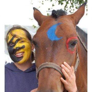 Sophie et son cheval Casimir